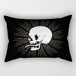 Vintage Skull Rectangular Pillow