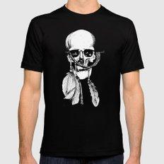 Skull of Time Black MEDIUM Mens Fitted Tee