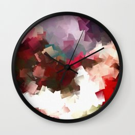 #6 SPACES Wall Clock
