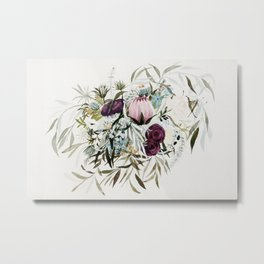 Rustic and Free Bouquet Metal Print