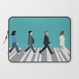 The tiny Abbey Road Laptop Sleeve