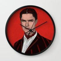 ahs Wall Clocks featuring DANDY MOTT. by zinakorotkova