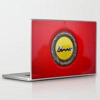 ferrari Laptop & iPad Skins featuring Ferrari Dino by Rainer Steinke