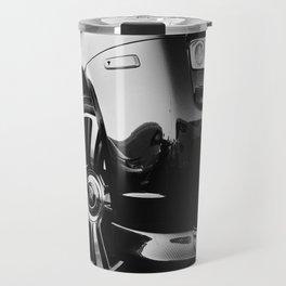 Rolls Rims // Black and White Luxury Super Car Photography Real Life Street Shots Travel Mug