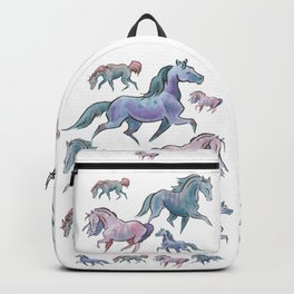 Horses in a Row Backpack