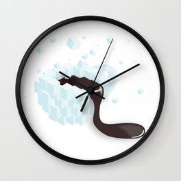 hot coffe cup print Wall Clock