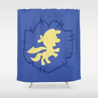 mlp Shower Curtains featuring CMC by Adrian Mentus