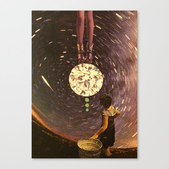 cosmic reign Canvas Print