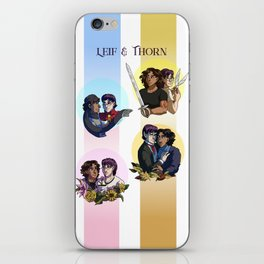 Leif & Thorn: Winter, Spring, Summer, or Fall iPhone Skin