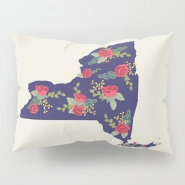 The Empire State of Flowers Pillow Sham