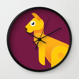 Kangaroo Wall Clock
