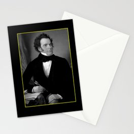 August rieder-Portrait of Schubert Stationery Cards