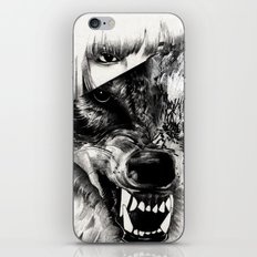 Canis lupus iPhone & iPod Skin