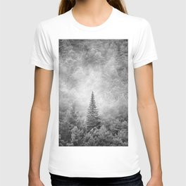 Looking For The Sky. Pinsapos. BW T-shirt