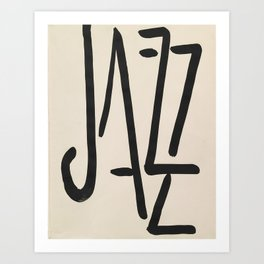 Jazz by Henri Matisse Art Print