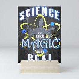 Magic Science, Funny Wizard Mini Art Print