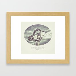 :: best and most beautiful things :: Framed Art Print