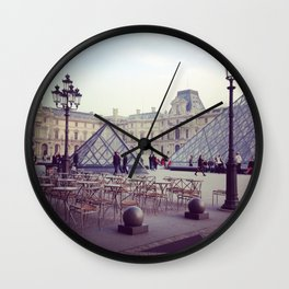 Musée du Louvre Paris Wall Clock