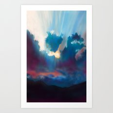 Break in the Storm Art Print