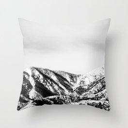 Snowy Range Throw Pillow