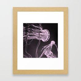 Jelly Swim Framed Art Print