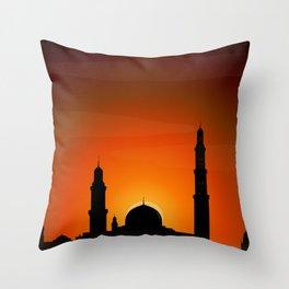Sleepless Nights Throw Pillow