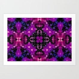 Luminescent Mindscapes Art Print