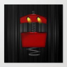 Tin Droid Canvas Print