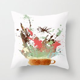 Morning Shot Throw Pillow