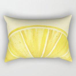 Lemony Goodness Rectangular Pillow