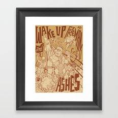 Half Life 2 tribute Framed Art Print
