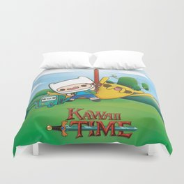 Kawai Time Duvet Cover