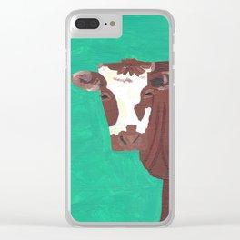 A Heifer Named Ice Cream Clear iPhone Case