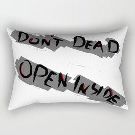 Don't Dead - Open Inside Rectangular Pillow