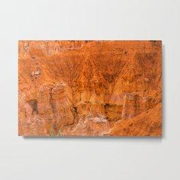 Rock Formation at Bryce Canyon National Park Metal Print