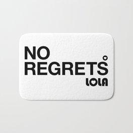 No Regrets Bath Mat