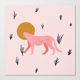 trot cat Canvas Print