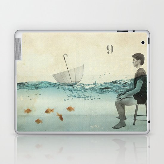 never one when you need one Laptop & iPad Skin