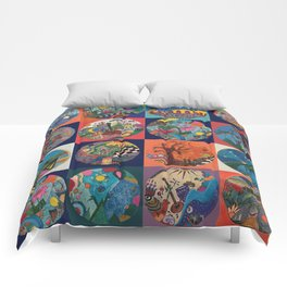 Bolitas de colores Comforters