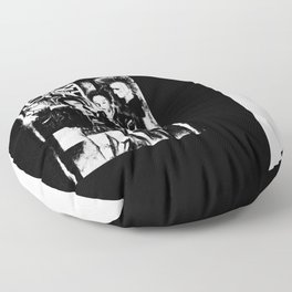 Alternative fashion and leather jacket style at the club Floor Pillow