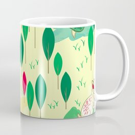 Hare and Tortoise Coffee Mug