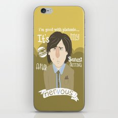 why watch (bored to death) iPhone & iPod Skin
