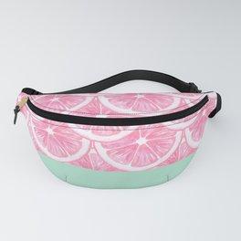Zesty splice - pink grapefruit Fanny Pack