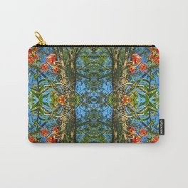 Flower Pattern No. 4 (Tiger Lilies) Carry-All Pouch