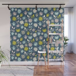 Bugs and Flowers Wall Mural