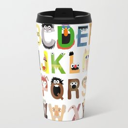 Muppet Alphabet Travel Mug