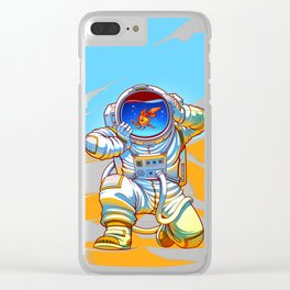 Adventure Goes Wrong Clear iPhone Case