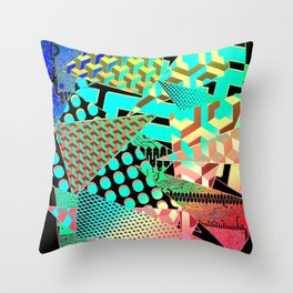 AM Throw Pillow