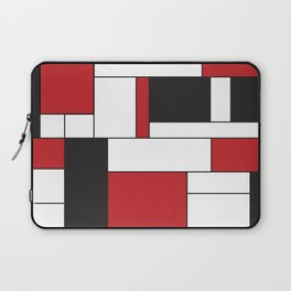 Geometric Abstract - Rectangulars Colored Laptop Sleeve