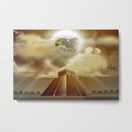 El Castillo Metal Print